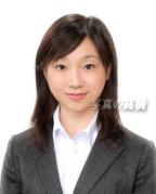 証明写真 履歴書用写真 髪型見本15 清楚で優しい表情証明写真  就活履歴書の証明用見本 15 就活写真、 表情、服装も一般企業用