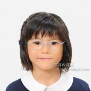 幼稚園受験写真 髪型 服装見本