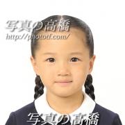 お受験写真,髪型,服装13