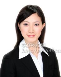 CA 客室乗務員 髪型 ロング写真 09