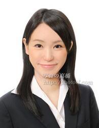 客室乗務員髪型ロング写真97