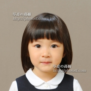 幼稚園受験写真 髪型,服装見本