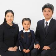 願書用家族証明写真 ご家族,服装ご参照