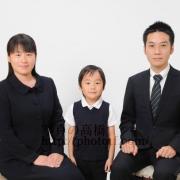 お受験用家族写真 合格すると卒業写真 入学写真でお見え下さいます