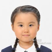 小学校受験写真 受験用髪型も