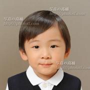 幼稚園お受験写真