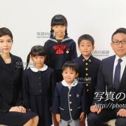 お受験用家族証明写真は東京,受験写真館