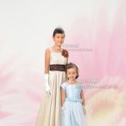 七五三写真5 お姉さまとドレスで。