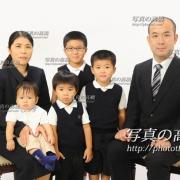 お受験,家族写真,東京の写真の高橋10