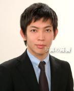 就活証明写真 髪型見本19 就活証明写真,男性。凛としてカッコ良い 合格 リクルート用19。ES証明写真 就活 ネクタイや服装見本に。