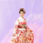 十三詣り写真はもうすっかり年頃の娘さんみたい