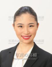 外資CA髪型写真女性313