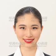エアライン証明写真,前髪