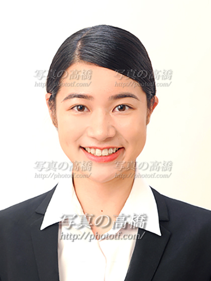 エアライン受験写真,笑顔,