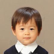 幼稚園受験写真,19髪型,服装も
