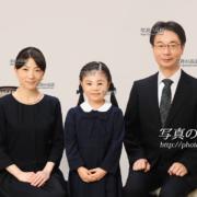 小学校受験願書写真,23家族写真