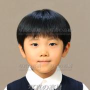 小学校受験写真,髪型10