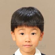 小学校受験写真,髪型8