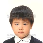 幼稚園受験写真,髪型9