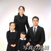 お受験写真,家族写真34