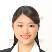 就職活動写真髪型女性