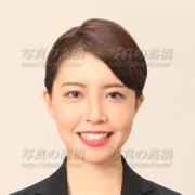 転職活動写真,女性,髪型CA