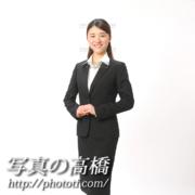 就職活動写真,スーツ,全身