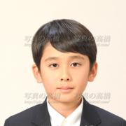 中学受験写真男子,東京,髪型,服装
