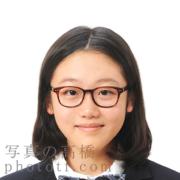 東京,中学受験写真服装,眼鏡,髪型