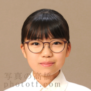 東京,中学受験写真服装,眼鏡あり髪型