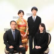成人式写真,家族写真,江戸川区写真館