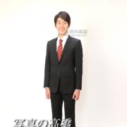 アナウンサー証明写真,スーツ全身