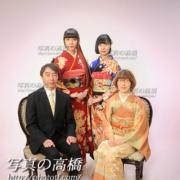 成人式ご家族写真,江戸川区