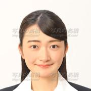就職活動写真,笑顔305