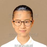 中学受験写真髪型,表情