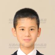 中学受験写真男子,髪型