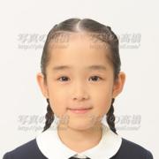 小学校受験写真,髪型前髪,表情,服装お手本